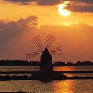 Marsala, mulino a vento