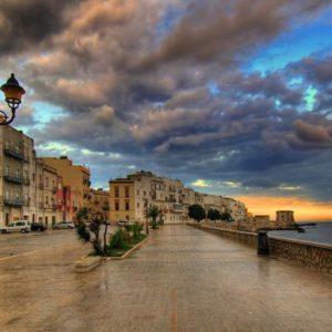 Trapani, città sul mare