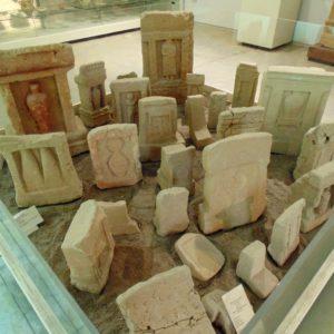 Isola di Mothia, reperti archeologici