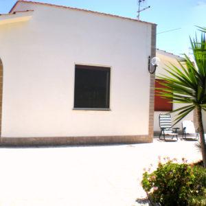 Foto panoramica facciata villino